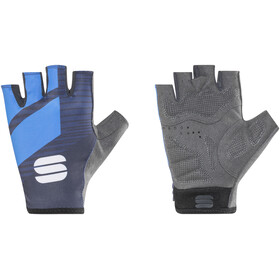Sportful Bodyfit Team Gloves black/electric blue